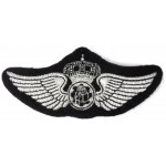 Saudi Arabia Photographer Synthetic Wire Aircrew Wing Badge