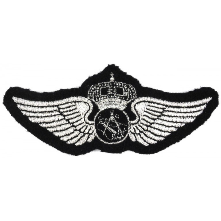Saudi Arabia Navigator Synthetic Wire Aircrew Wing Badge