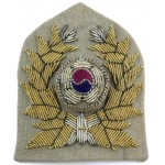 South Korea Army Officers Bullion Cap Badge