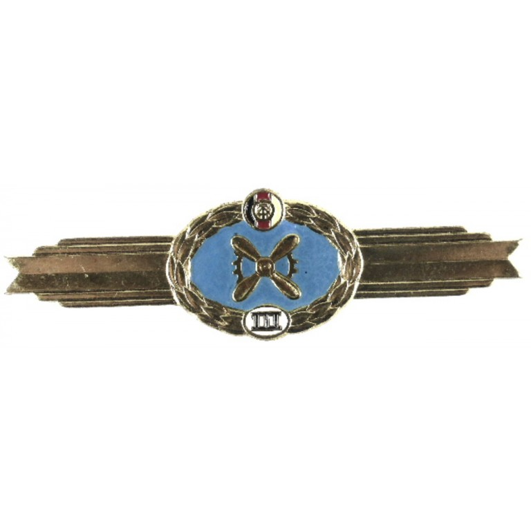 East German Flight Engineer Class 3 Aircrew Badge