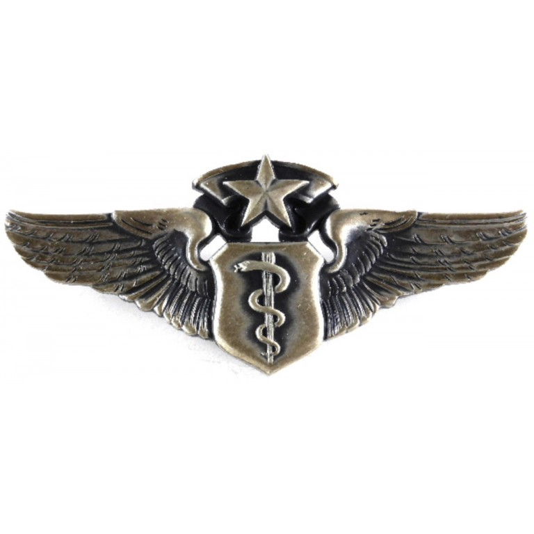 US Air Force Chief Flight Surgeon Wing Badge