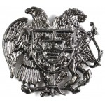 Armenia Army Cast Metal Military Cap Badge 36mm