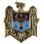 Moldova Border Guard Soldiers Cap Badge