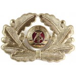 East German National Peoples Navy Officers Cap Badge