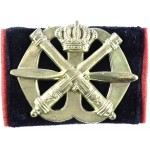 Netherlands Anti Aircraft Artillery Brass Beret Badge