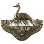 British Northern Rhodesia Regiment Brass Cap Badge