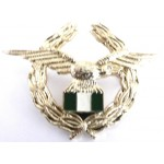 Nigerian Air Force Anodised Aluminium Cap Badge