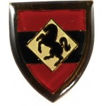 South Africa 11th Field Regiment Enamel Breast Badge