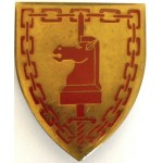 South Africa Army Battle School Arm Badge 60mm Tall