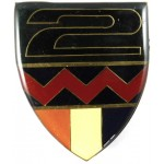 South Africa 2nd Infantry Arm Badge 60mm Tall