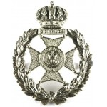 Bermuda Rifles White Metal Cap Badge
