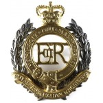 Royal Australian Engineers Silver/Gilt Plated Cap Badge