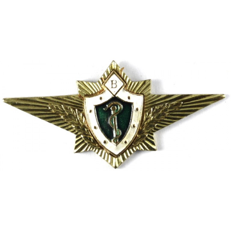 Russian Federation Armed Forces Doctor Wing Badge