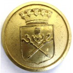 Sweden Sundsvall Police Gilt Button 22mm