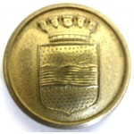 Italy Varnamo Police Gilt Button 22mm