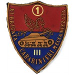 Italy Carabinieri 11th Mechanised Brigade Rubberised Arm Badge