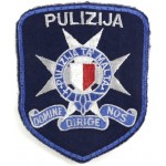 Malta Police Cloth Arm Patch Badge
