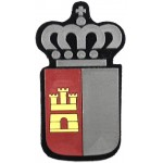 Spain Castilla La Mancha Police Arm Badge