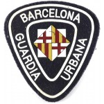 Spain Barcelona Urban Police Arm Badge