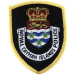 Royal Cayman Islands Police Cloth Patch