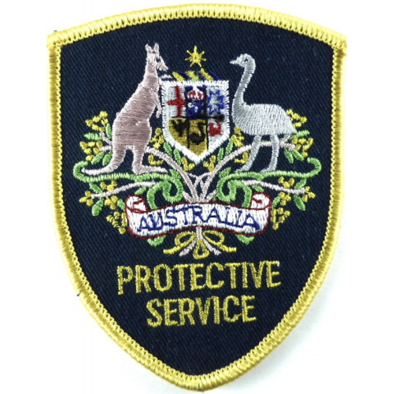 Australia Protective Service Cloth Patch