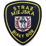 Poland Bialy Bor Municipal Police Cloth Arm Patch