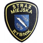 Poland Rybnik Municipal Police Cloth Patch