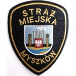Poland Myszkow Municipal Police Cloth Patch