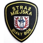 Poland Bialy Bor Municipal Police Cloth Patch