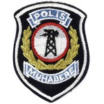 Turkey Signals Police Cloth Patch