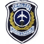 Turkey Airport Police Cloth Patch