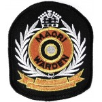 New Zealand Maori Warden Cloth Patch