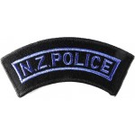New Zealand Police Cloth Shoulder Title Badge