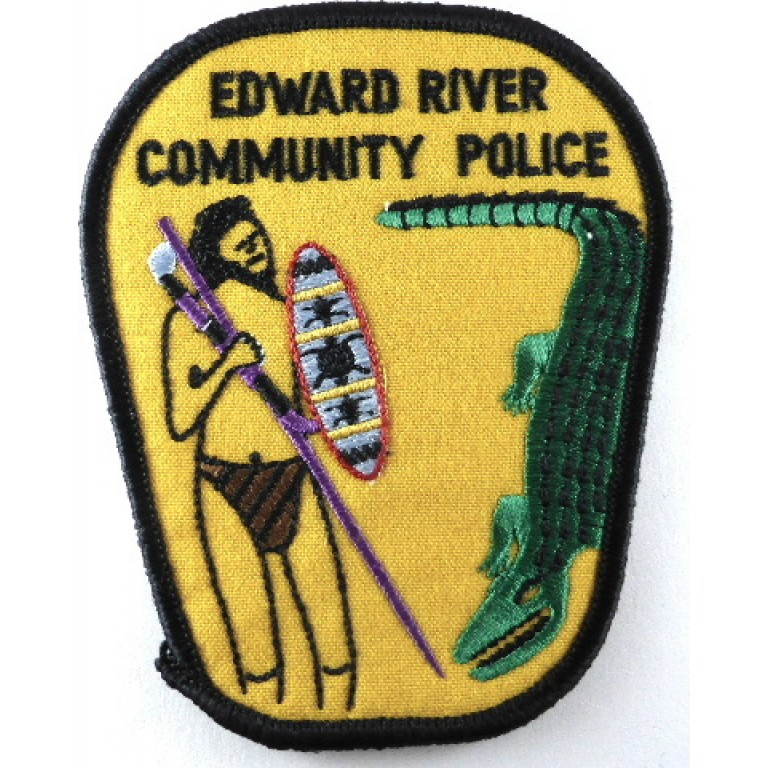 Australia Edward River Community Police Cloth Patch