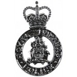 Royal Bahamas Police Chrome Collar Badge