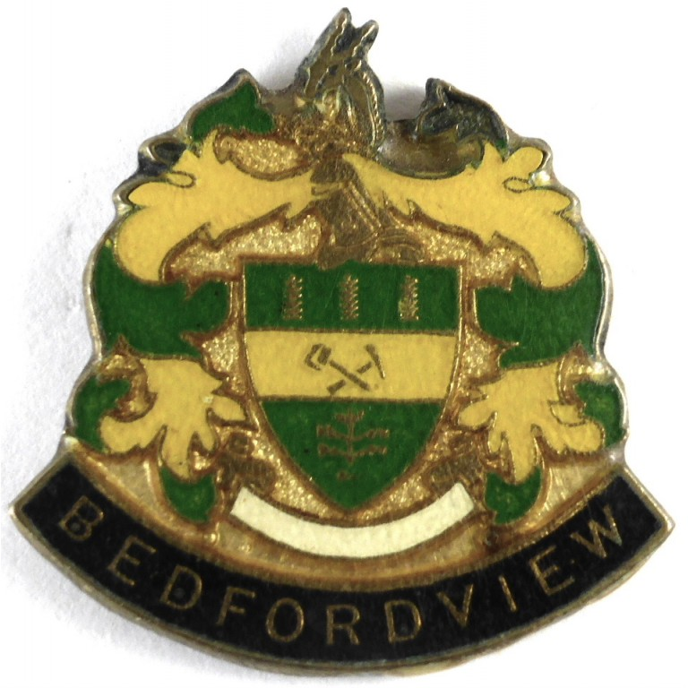 South Africa Bedfordview Police Enamel
