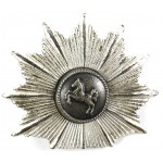 Niedersachen Police Silver Plated Cap Badge
