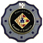 Spain Castello D`Empuries Local Police Breast Badge