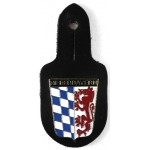 Lower Bavaria Police Breast Pocket Badge