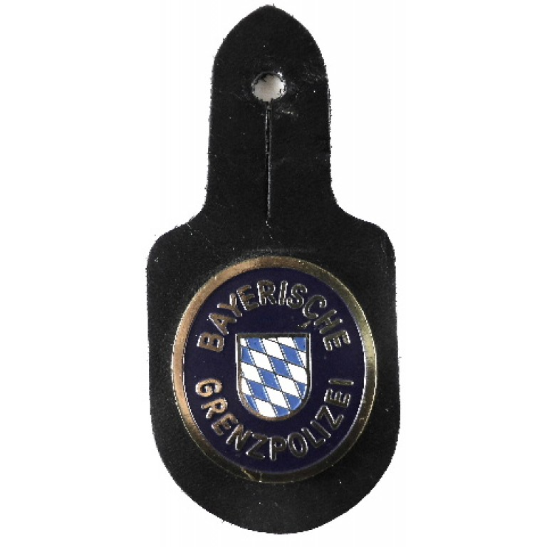 Bavaria Border Police Breast Pocket Badge