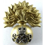 Grenadier Guards E11R Warrant Officer Bi Metal Cap Badge