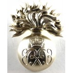 Grenadier Guards E11R Sgt`s & Musicians Anodised Aluminium Cap Badge