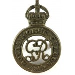 Royal Horse Guards GVR Brass Cap Badge
