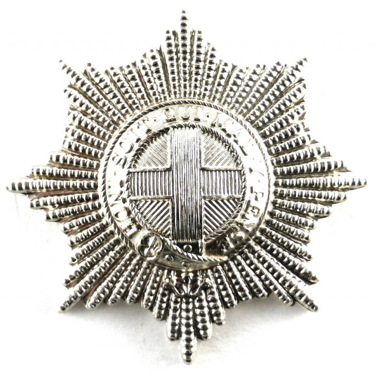 Coldstream Guards Anodised Aluminium Cap Badge