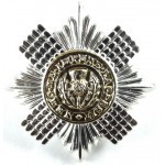 Scots Guards Sergeants Two Coloured Anodised Aluminium Cap Badge