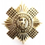 Scots Guards Anodised Aluminium Cap Badge