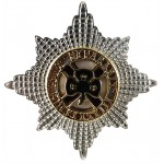 Irish Guards Officers Service Dress Cap Badge 29mm