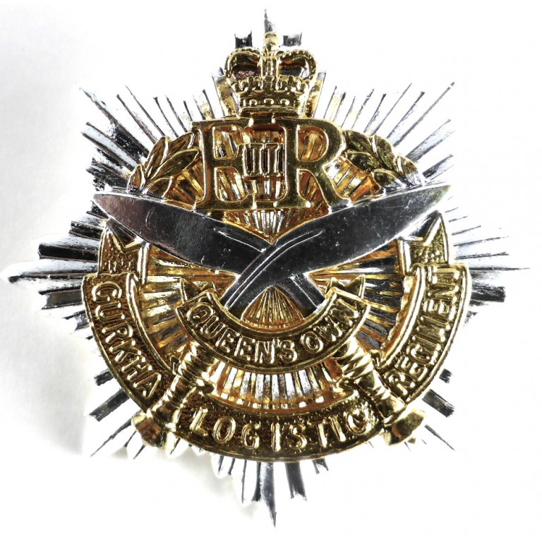 Gurkha Logistic Regiment Bi Metal Cap Badge