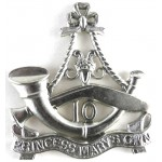 10th Princess Mary`s Own Gurkha Rifles White Metal