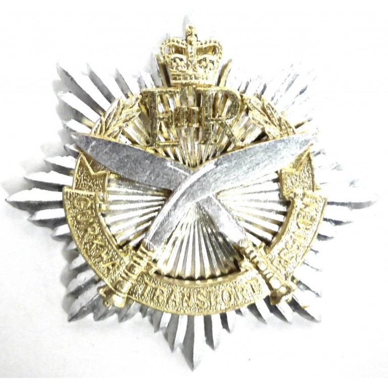 Gurkha Transport Regiment Anodised Aluminium Cap Badge
